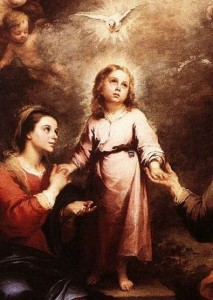 Holy Spirit by Murillo