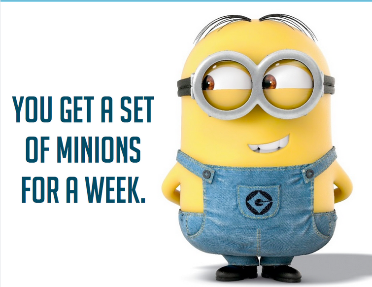 Minions Writing Prompt