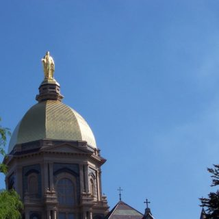 Golden Dome at Notre Dame
