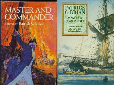Master and Commander book covers