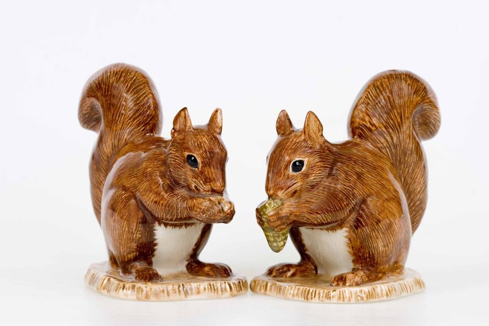 Ceramic Squirrels