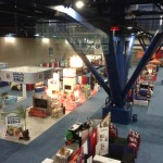 Exhibitors' booths