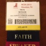 My NCEA Speaker Badge