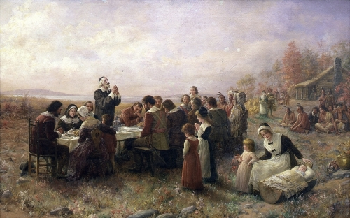 Thanksgiving - Brownscombe