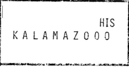 Kalamazoo Mystery Puzzle