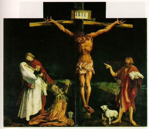 Isenheim Crucifixion by Matthias Grunewald