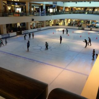 Ice Skating Rink in Lloyd Center, Mall, Portland, OR
