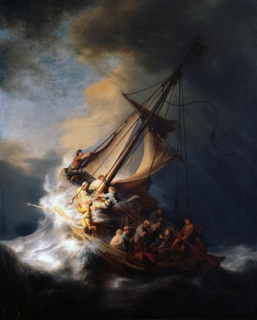 Rembrandt - Christ Calming Storm