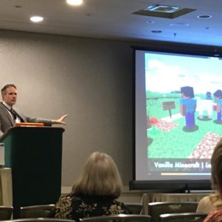 Dr. Chris Haskell talks Minecraft