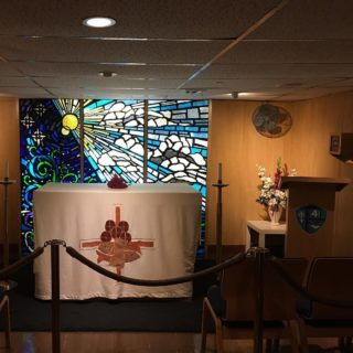 Chapel on USS Midway