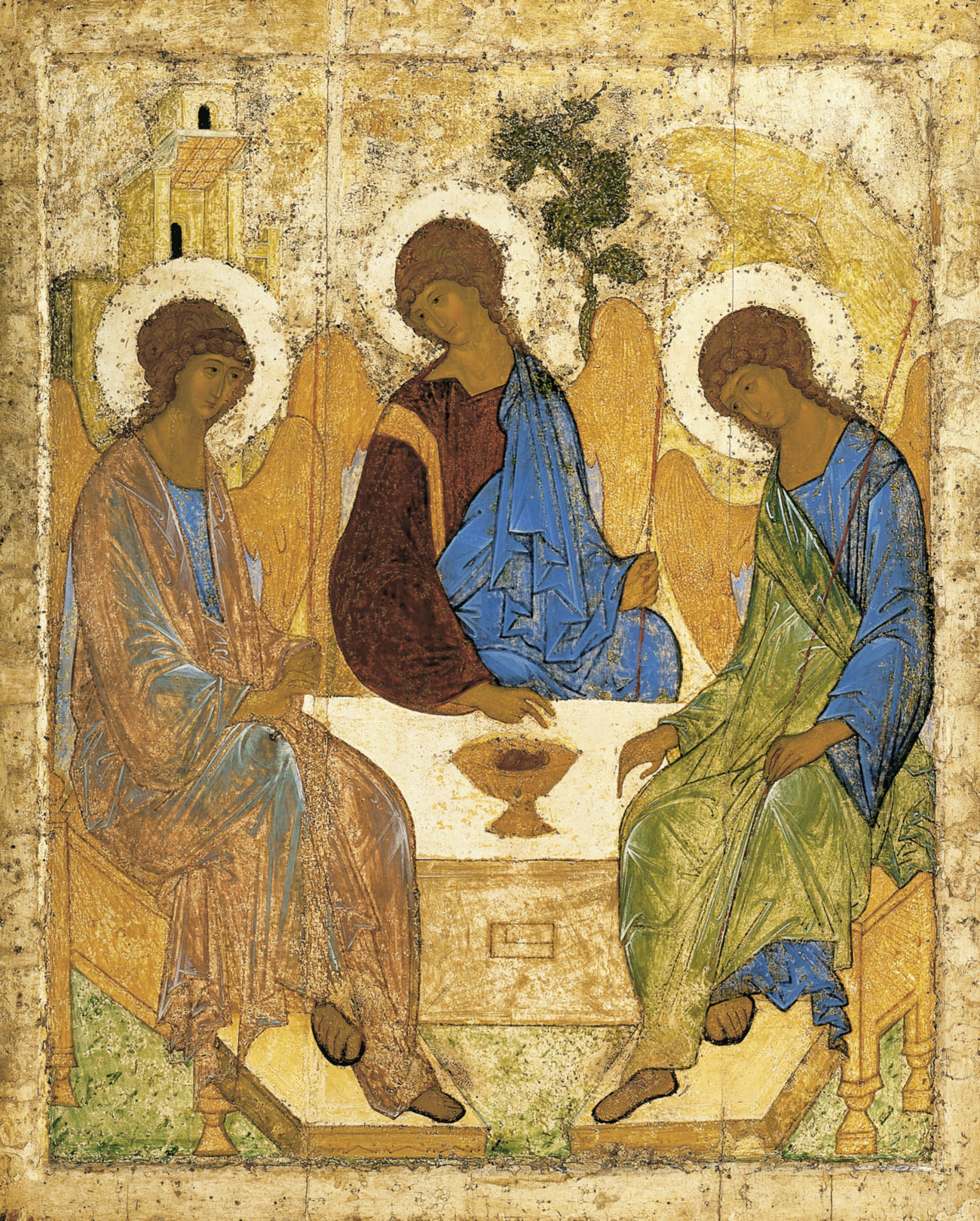 Andrei Rublev- The Trinity
