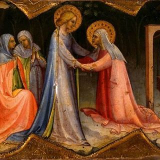 The Visitation by Lorenzo Monaco