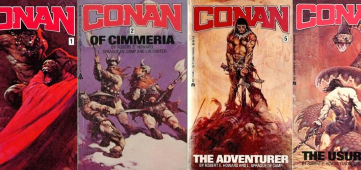 Conan Ace Paperback Covers