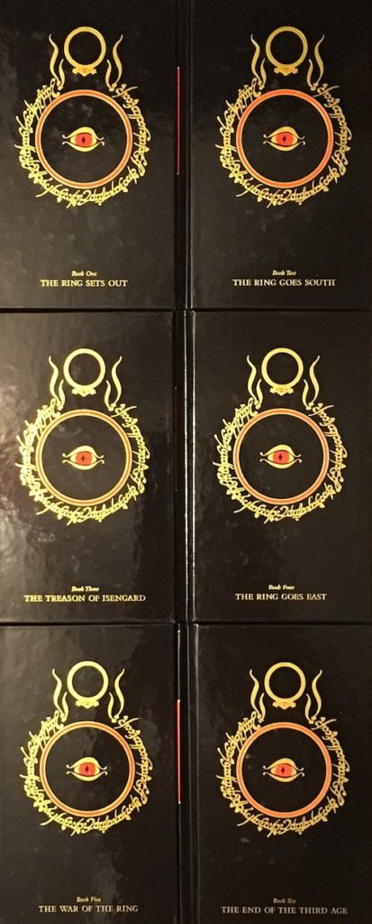 Lord of the Rings Millennium Edition Covers