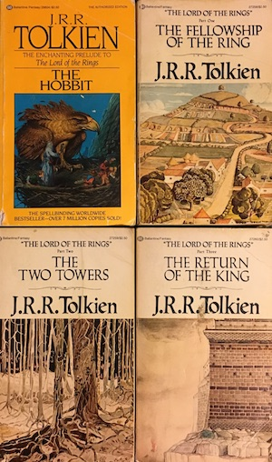 Lord of the Rings Tolkien Covers