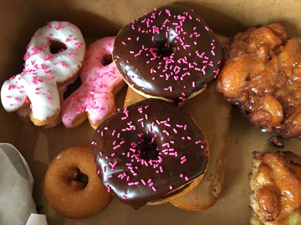 Retro Donuts Pink Ribbon