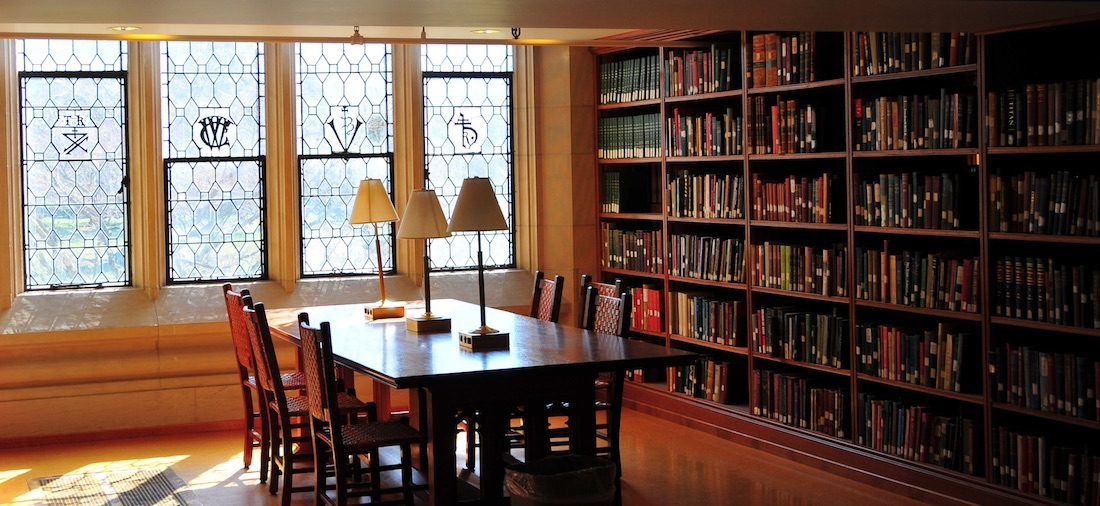Vassar Library Study Area