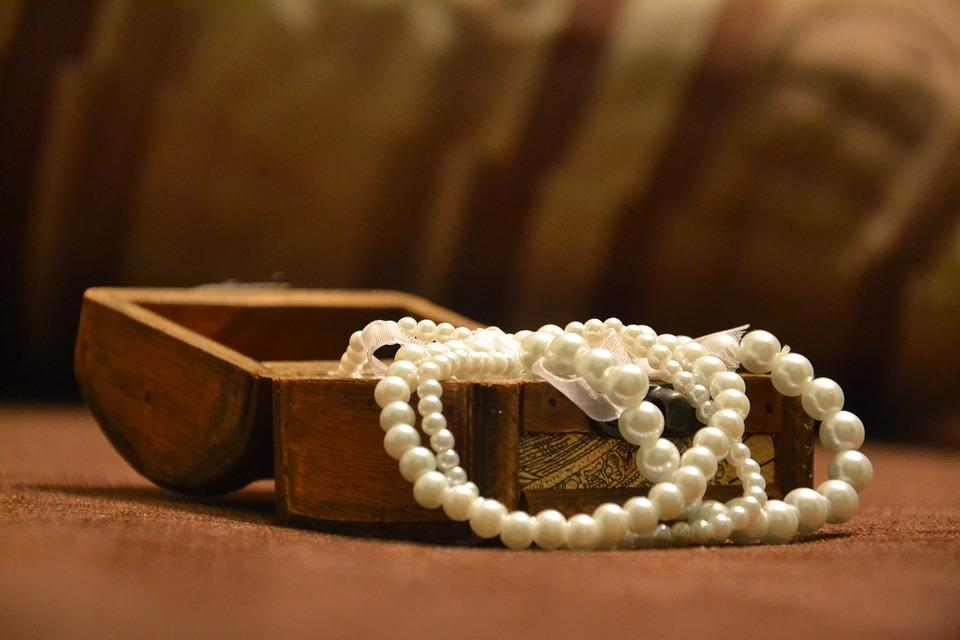 Treasure box of pearls