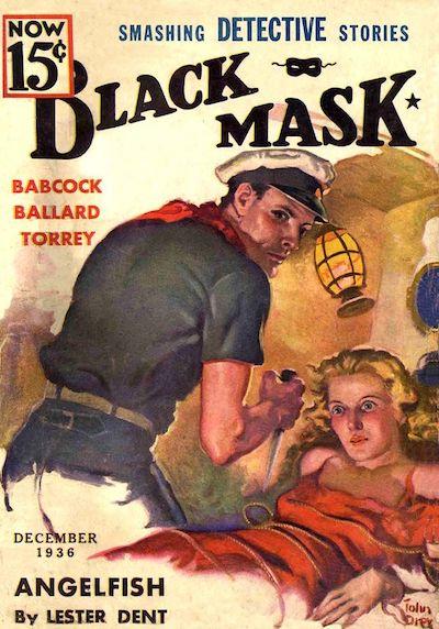Black Mask Magazine December 1936
