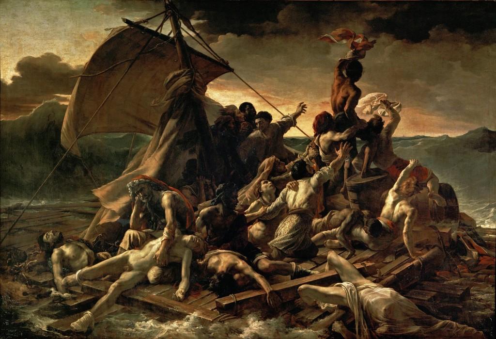 Théodore Géricault, Raft of the Medusa, 1819