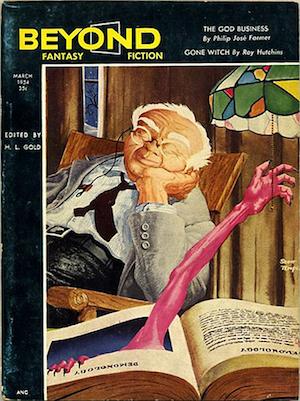 Beyond Fantasy Fiction March 1954