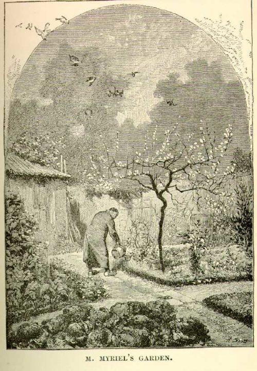 Émile Bayard - M. Myriel's Garden