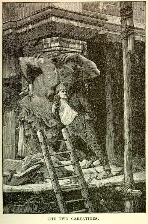 Émile Bayard - The Two Caryatids
